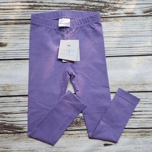 Hanna Andersson size 5 purple leggings
